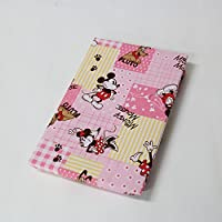ディズニー 敷き布団カバー ミッキー&ミニー【ピンク】 ジュニアサイズ(90×190cm)新生活寝具