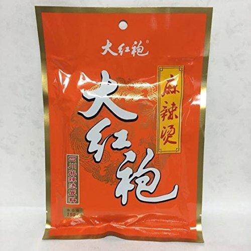 大紅袍四川麻辣?調料 鍋の素 激辛ソース 四川風味 150g