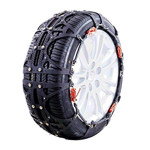 AMAJR-Shop 非金属タイヤチェーン 簡単装着 雪道、凍結、坂登り、泥地、悪路事故防止 L2適合タイヤのモデル