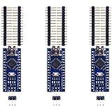 COODENKEY Arduino用 Nano V3.0ボード Mini USB Nano V3.0 CH340/ATmega328P Nano V3.0互換 マイクロコントローラーボード モジュール (3個入り)