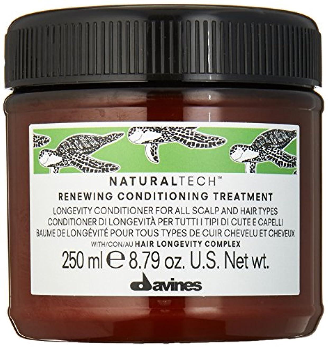 ピアノつぶす火星ダヴィネス Natural Tech Renewing Conditioning Treatment (For All Scalp and Hair Types) 250ml/8.79oz並行輸入品