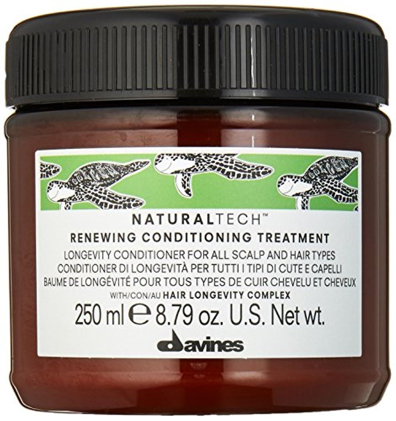 安定存在蛾ダヴィネス Natural Tech Renewing Conditioning Treatment (For All Scalp and Hair Types) 250ml/8.79oz並行輸入品