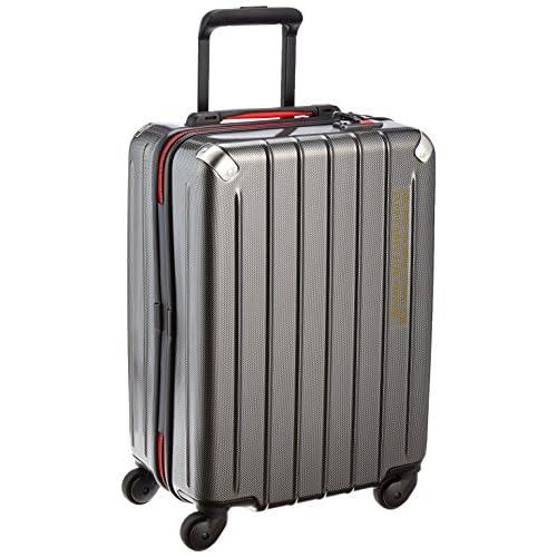 [プラスワン] PLUS ONE 軽量スーツケース SWIFT(スウィフト) 38L 2.9kg 機内持込可 ヒノモトキャスター 303-49 BLACK CARBON (ブラックカーボン)