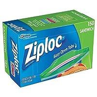 Ziploc Sandwich Bags Pack of 150 6.5 x 5.875-Inch (16.5 cm x 14.9 cm) 【Creative Arts】 [並行輸入品]