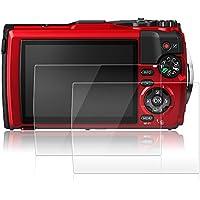 Olympus Tough TG-5 red 専用 液晶保護フィルム AFUNTA オリンパス tg-5 レッド 用 ガラスフィルム スクリーン保護シートtg5用 プロテクター