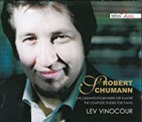 Schumann: Complete Studies for Piano by Lev Vinocour