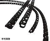 3-3146-03導電性(帯電防止)チューブカバー19・25mm用1巻(20m)CTC-20
