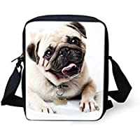 CLOHOMIN Kid Student 3D Animal Mini Cross Body Messenger Bag Phone Purse Wallet