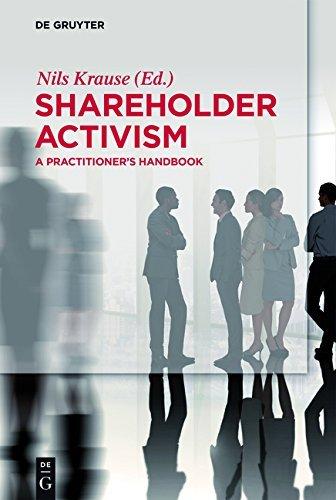 Shareholder Activism: A Practitioner's Handbook (De Gruyter Praxishandbuch)