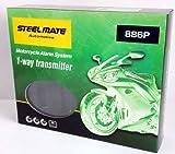steelmate スティールメイト 886P バイク用 1WAY セキュリティー・防犯機(エンジンスターター機能なし)