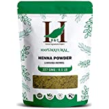H&C 100% Natural And Pure Henna Powder/Lawsonia Inermis (Organically Grown) 227 Gms (1/2 Lb) For Hair