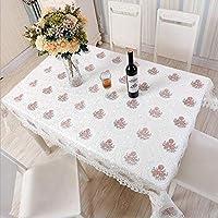 テーブルクロスヨーロッパスタイルのシンプルなテーブルクロス中空プリントカバーレーステーブルクロス屋外パーティー結婚式、家庭用テーブルランナー、ダストカバー様々なサイズ (色 : C, サイズ : 85 * 85cm)