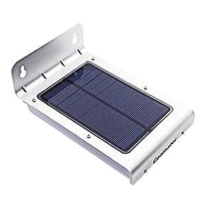 Coomatec 24LED ソーラー センサーライト 屋外 人感センサー 玄関ライト MS-240