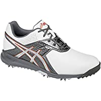 Asics Gel Ace Pro Tour 2 Golf Shoes - White/Grey