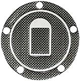 カワサキ車5穴汎用タンクキャップカバー2 カーボンルック O93-TS-K2