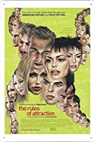映画の金属看板 ティンサイン ポスター / Tin Sign Metal Poster of Movie The Rules of Attraction #2