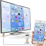 Lightning to HDMIケーブル、ptviewアップグレードPlug and PlayデジタルAVアダプタIphone 7/ 6/ 5iPad Pro iPadとiPodの選択モデル