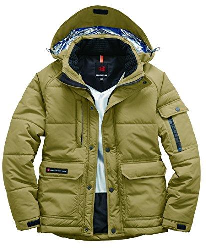 BURTLE バートル 防寒ジャケット(大型フード付)(ユニセックス) 秋冬用 7510 23 カーキ L