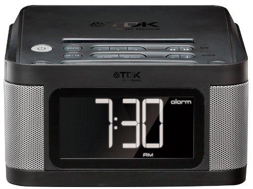 TDK LoR 目覚まし機能付き FMラジオ搭載 ステレオ スピーカー TCC8431