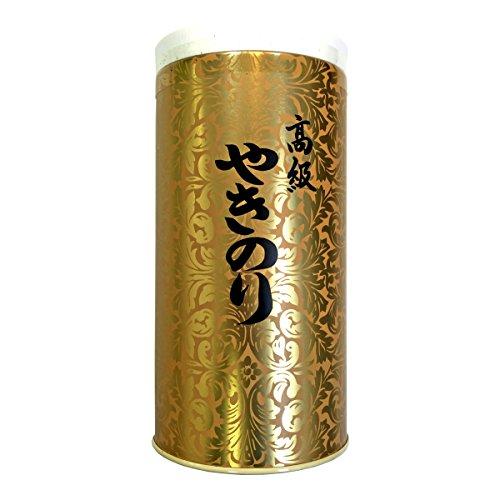 【高級 ギフト】焼き海苔 ゴールド缶 箱入り 8切208枚入り