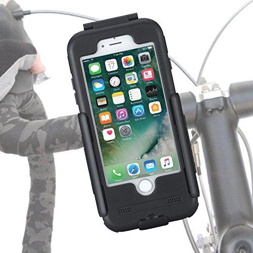 TiGRA Sport バイク スマホ ホルダー 防水 スマホスタンド iPhone8 iPhone7 BikeConsole for iPhone8/7【国...