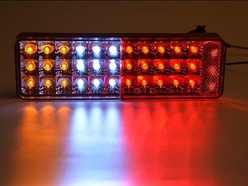 スズキ ジムニー JA11/JA12/JA22/JB31/32用 LEDテールランプ/左右セット/純正交換 車検対応/赤白黄
