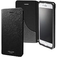 "GRAMAS COLORS Leather Case ""EURO Passione"" グラマスカラーズ 手帳型レザーケース CLC266 for iPhone 8/7(ブラック)"