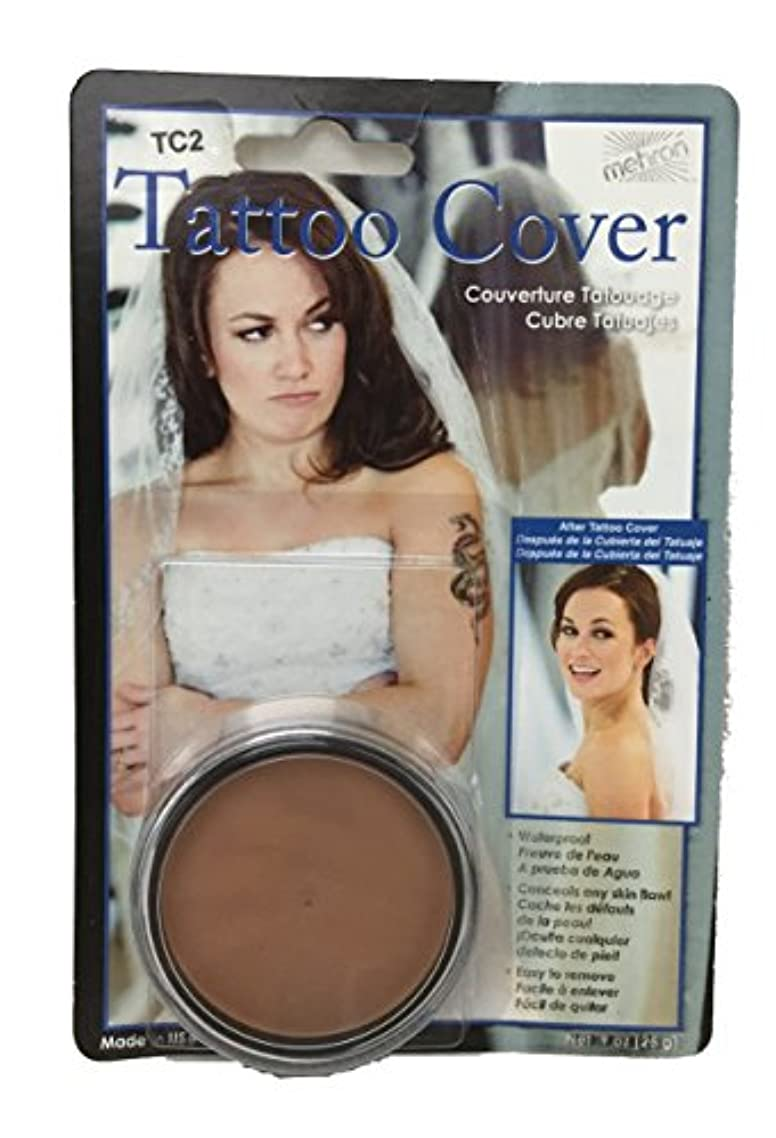 純粋に効能ある横たわるmehron Tattoo Cover - Lightes Color (並行輸入品)