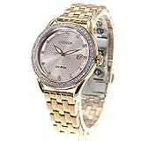 [Citizen] 腕時計 FE6113-57X レディース ゴールド