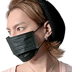 JIGGYS SHOP B.M 黒マスク 5枚入り