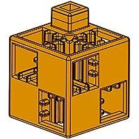 アーテック (Artec) アーテックブロック ブロック単品 基本四角 茶 24ピース 077752