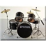 YAMAHA 装飾のためのヤマハミニチュアドラムセットドラムセットのみ