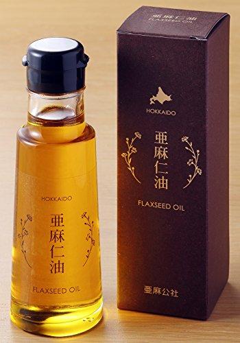 生食用北海道産亜麻仁油 95g