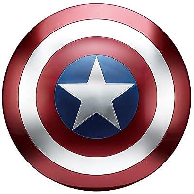 ハズブロ レプリカ マーベル・コミック レジェンド2017年版 キャプテン・アメリカ シールド 直径約61センチ 合金製 塗装済み完成品レプリカ