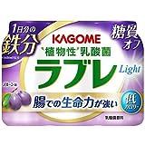 カゴメ植物性乳酸菌ラブレLight[ライト]1日分の鉄分80ml×3本【×6パック:合計18本】【要冷蔵】【クール便】