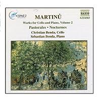MARTINU: Works for Cello and Piano, Vol. 2 by Sebastian Benda (2006-08-01)