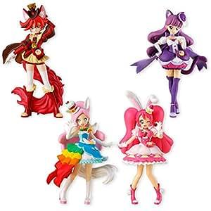キラキラ☆プリキュアアラモード キューティーフィギュア2 10個入 食玩・ガム (キラキラ☆プリキュアアラモード)