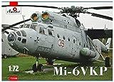 A Model 1/72 ミル Mi-6VKP 空中コマンドポスト ヘリコプター プラモデル AM72338