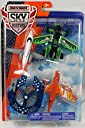 Matchbox Sky Busters Airplane 4-Pack - Hondajet HA-20 Freeway Flyer Strato Stormer Sky Sentry 並行輸入品