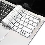 Masino シリコーンキーボードカバー 超薄型 保護スキン USバージョン MacBook Air 13インチ 13.3インチ Retinaディスプレイ 2018年発売..