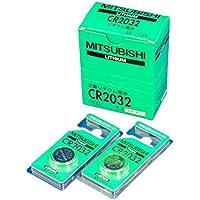 三菱電機(MITSUBISHI) リチウムコイン電池 CR2032D (10個セット) CR2032-10