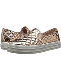 [SKECHERS(スケッチャーズ)] レディーススニーカー?ウォーキングシューズ?靴 Double Up - Duvet Rose Gold 5 (22cm) B - Medium
