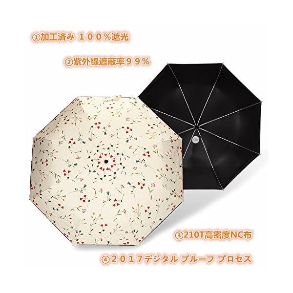 Cuby 折り畳み傘 折り畳み傘 日傘 自動開...の紹介画像9