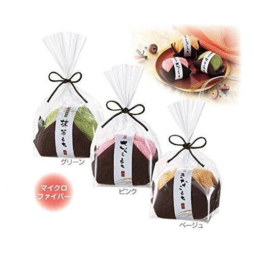 【ふんわりと落ち着いた和の演出】 ふんわり和菓子タオル 200x200mm
