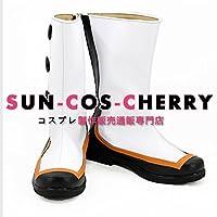 【サイズ選択可】コスプレ靴 ブーツ K-2416 ダーリン・イン・ザ・フランキス DARLING in the FRANXX ゼロツー Code:002 男性25.5CM