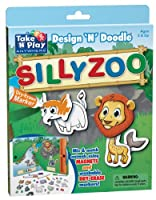 Take 'N' Play Anywhere Activities Design 'N' Doodle - Silly Zoo