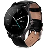 LENCISE Bluetooth Smartwatch Heart Rate Monitor Remote Camera Push Messages For Android ISO MTK2502C
