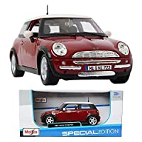 MAISTO MINI COOPER Red & White 1 : 24 ミニカー/ミニカーミニチュアカー [並行輸入品]