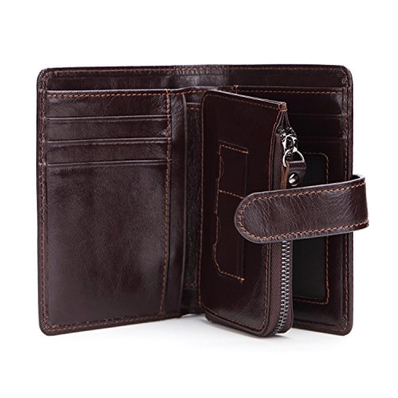 財布 メンズウォレット レザー エンボス加工 ショート ファッション カジュアル 三つ折り財布 コインバッグ