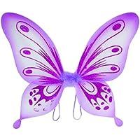 Lavender Sparkling Fairy Princess Wings by Lil Princess [並行輸入品]